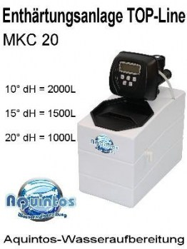 aquintos top line mkc 20 enthärter
